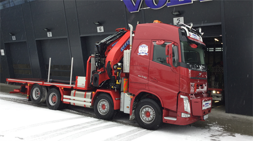 Volvo FH 540 8x2 til BTS AS