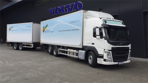 Volvo FM 420 6x2 til Nor Tekstil AS